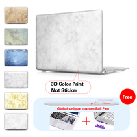 Marble Ceramic Tile Laptop Computer Bag Case For Mac Apple Macbook Pro 15 For Macbook 12
