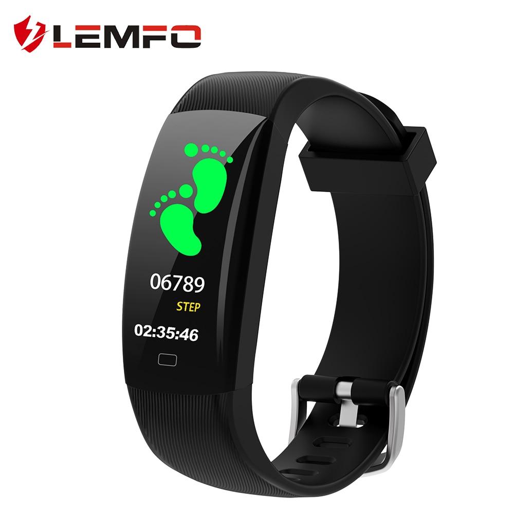 8da9933a69d7 LEMFO Fitness Bracelet F64C Fitness Tracker Pedometer Suppport ...
