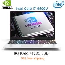"P10-03 8G RAM 128G SSD Intel i7-6500u 15.6 Gaming laptop 2.5GHZ-3.1GHZ NvIDIA GeForce 940M 2G with Backlit keyboard"""