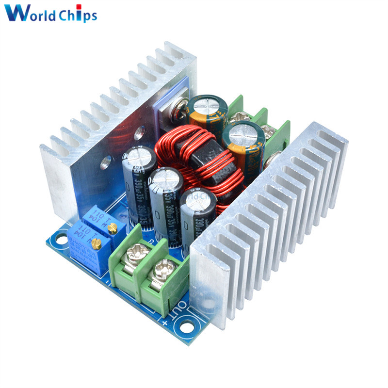 DC-DC Buck Converter Step Down Module 300W 20A Constant Current LED Driver Power Step Down Voltage Module Electrolytic Capacitor