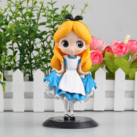 15CM Cute Q Snow Queen Action Figures High Quality Snow White Model Toy Girls Birthday Gift