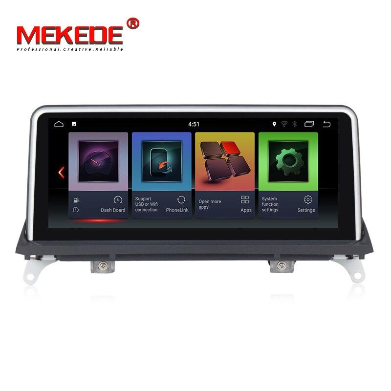 IPS HD 2 + 32G Android 7.1 Car Navi Dvd Player PARA BMW X5 E70/X6 E71 Original CCC CIC Sistema gps de áudio estéreo auto tudo em um