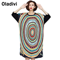 Large Size Woman Clothing 2016 Summer Style Fashion Printing Novelty Loose Dress Female Casual Ladies Dresses Tunic Shirt Blouse