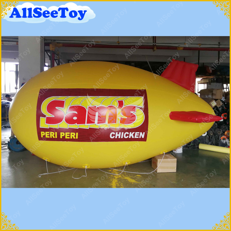 Free Shipping 6 M /19.6FT Long Inflatable Advertising Blimp Inflatable  Zeppelin/Airship with your Different LogosFree Shipping 6 M /19.6FT Long Inflatable Advertising Blimp Inflatable  Zeppelin/Airship with your Different Logos
