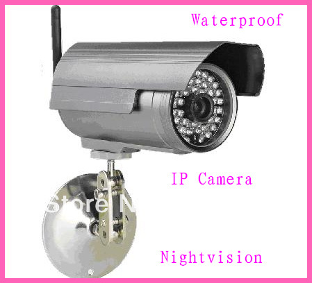 Waterproof Night Vision Outdoor Wireless IP CameraWaterproof Night Vision Outdoor Wireless IP Camera