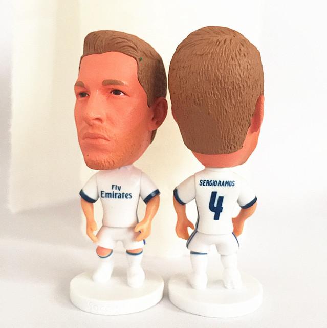 Stand 4 Sergio Ramos Doll (RM 16-17 Season) White
