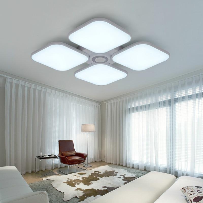 Celing Luzes Branco Frio + Branco Quente luminaria Luz Música Do Bluetooth Inteligente APP Controle Abajur/Luz de Teto Moderno - 5