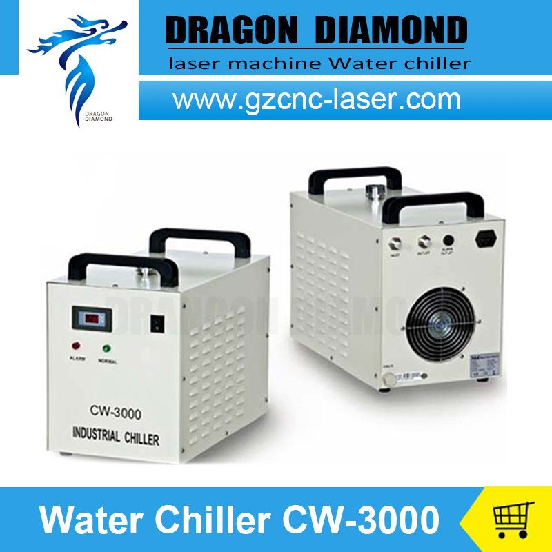 CW3000 Industrial Water chiller for laser engraving machine ac220v water chiller cw3000 for laser tube spindles