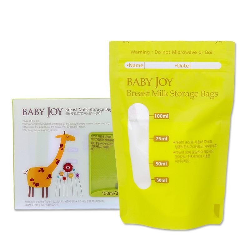 BPA Free 100ml30pcsSet Breastmilk Storage Bags For Storing Baby Food Human Breast Milk Bag Breast Pump Accessory Milk Storage 1