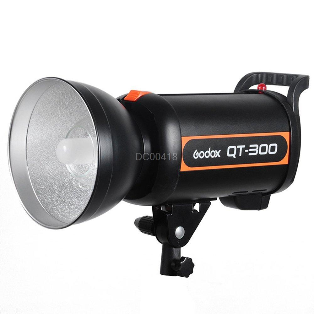 <font><b>Godox</b></font> QT-<font><b>300</b></font> 300W High Flash Duration 1/5000s AC200-240V Studio Strobe Light image