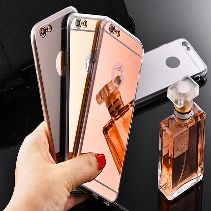Plated mirror phone case Mirror case TPU for iPhone7plus phone case