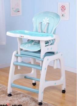Free shipping multi-function children eat chair. The baby chair. Distribution castor