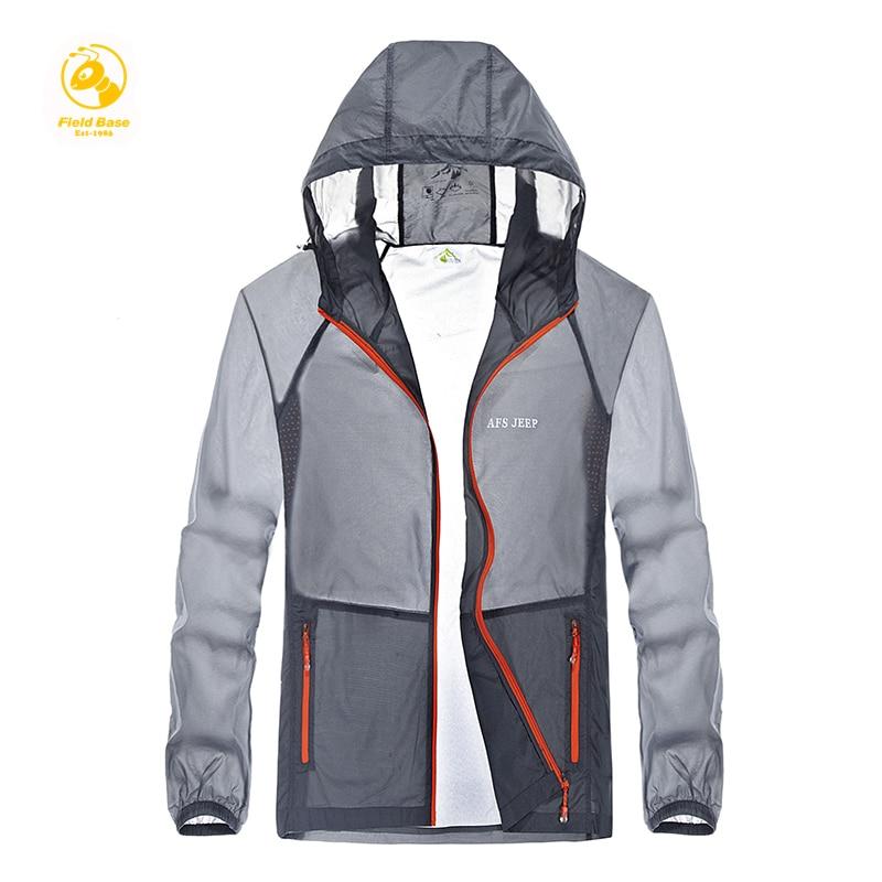 New ! High quality new summer fashion men's coat, men's jackets, men's ultra-thin sun proction Jacket Overcoat brand