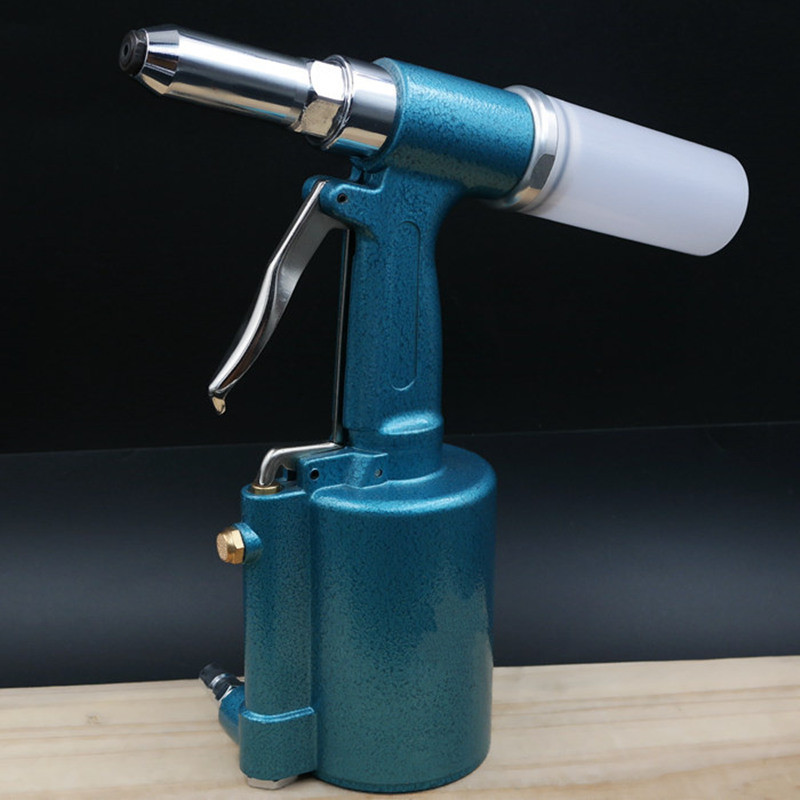 цена на Taiwan Pneumatic Rivet Gun Three Claw Rivet Tool Air Riveter Industrial Core Pulling Rivet Machine 2.4, 3.2, 4.0, 4.8