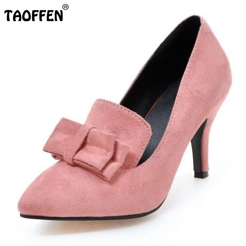 New Arrival Spring Vintage Women Pumps Elegant Fashion High Heels Slip-on Shoes Heeled Sexy Pointed Toe Ladies Shoes Size 34-43 2017 new spring summer shoes for women high heeled wedding pointed toe fashion women s pumps ladies zapatos mujer high heels 9cm