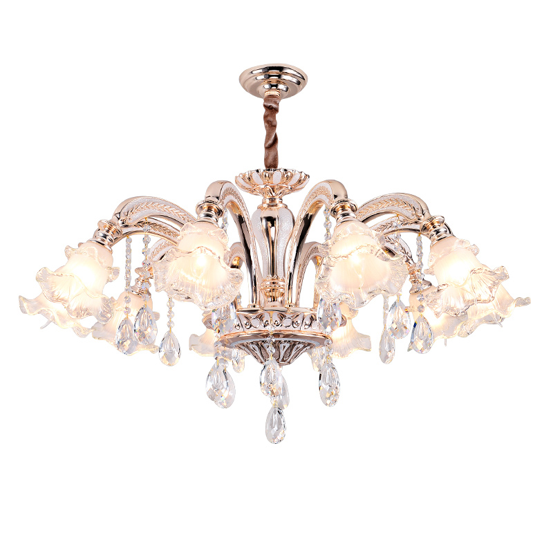 Modern Crystal Chandeliers Lighting LED Gold Crystal Chandelier for Living Room Modern Chandelier for Bedroom Lamp Glass Shade industrial lighting living room chandelier modern crystal lamp fashion bedroom chandeliers modern chandelier lighting hanging