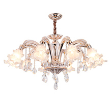 modern led chandelier italy murano glass handcraft crystal k9 bedroom lighting