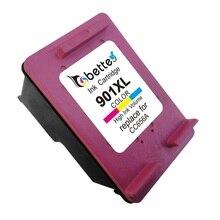 Cartucho de tinta de color para hp 901 xl hp901 officejet 4500 All-in-One G510 G510g G510h 4500 G510a Escritorio G510b 4500 Inalámbrico G510n