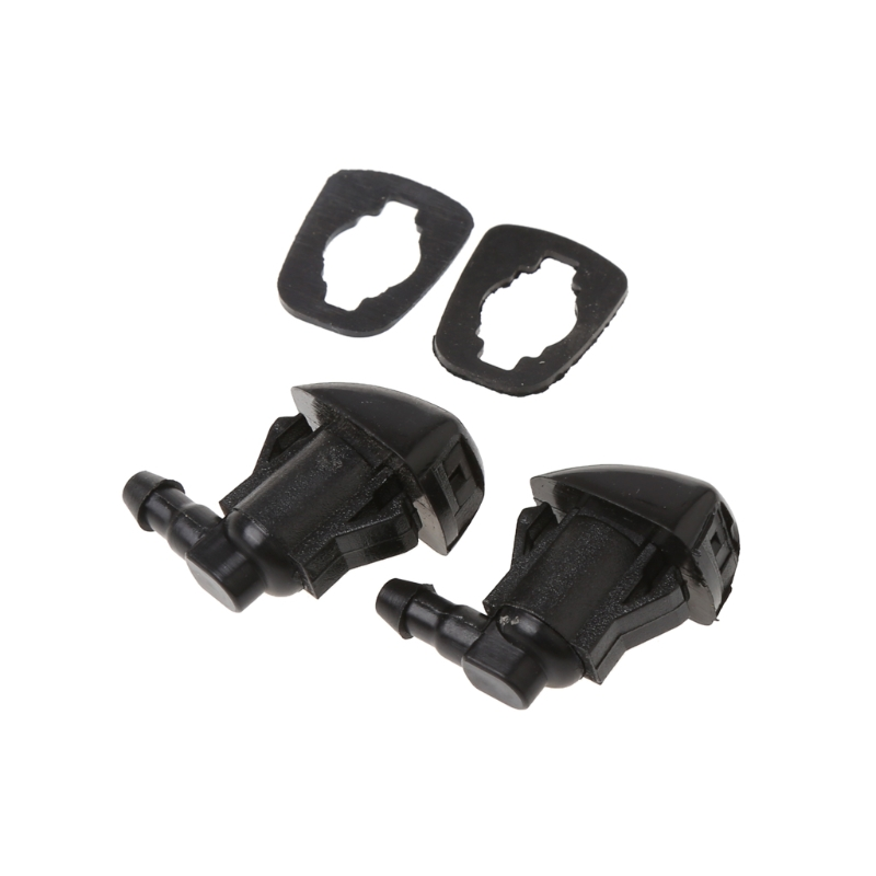 2Pcs Fan Shape Windshield Wiper Washer Jet Nozzle Spray For Toyota E120 Corolla Camry XV30