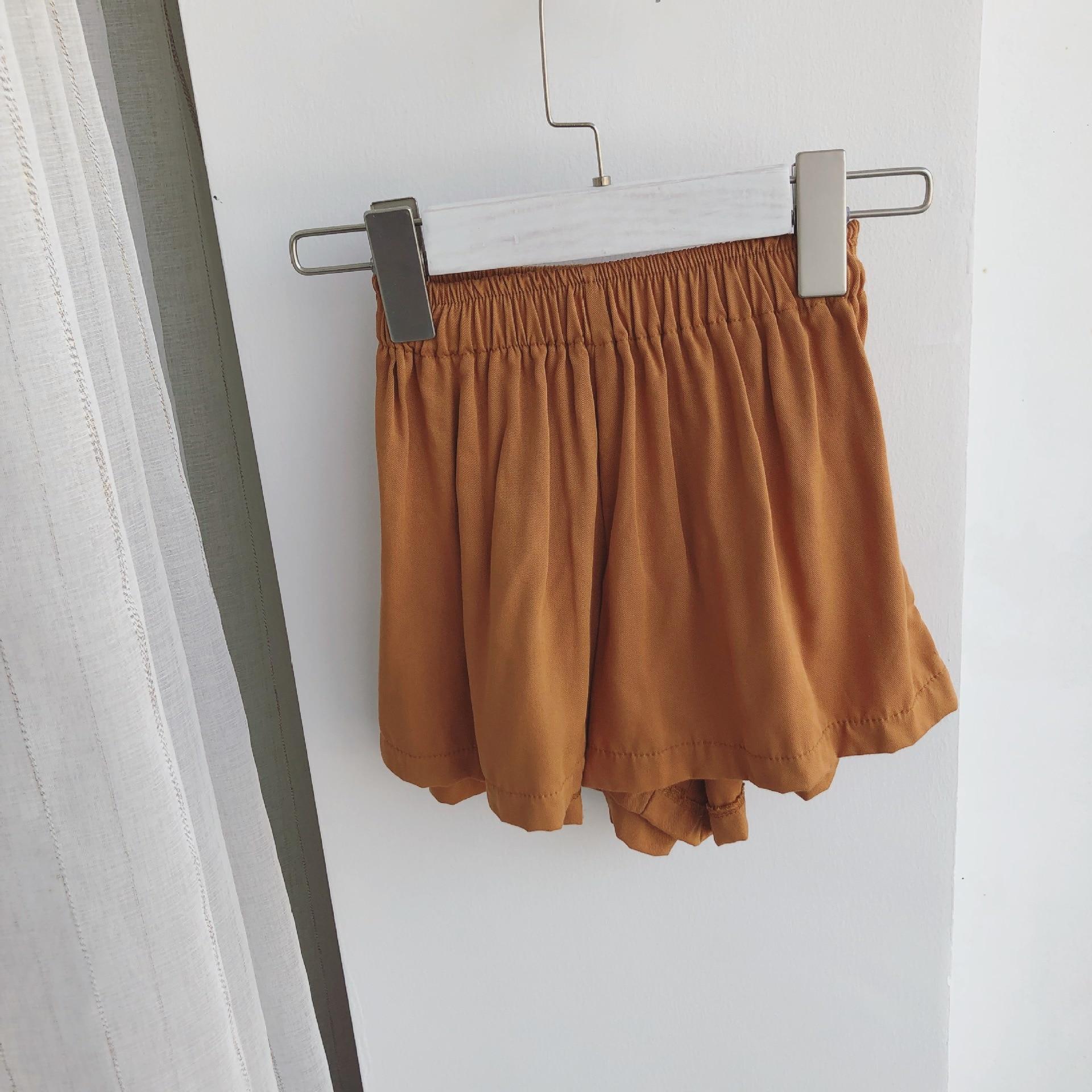 Zomer meisje wijde pijpen broek Kinderen broeken Kinderkleding Big - Kinderkleding - Foto 5