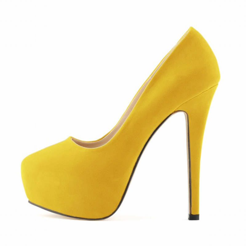 Popular Yellow Heels Wedding-Buy Cheap Yellow Heels Wedding lots ...