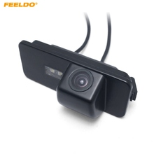 FEELDO 1Set Car Rear View Parking Camera For Skoda Superb(01~08)/ VW Passat/Polo/Magotan Scirocco Seat Leon Altea/ EOS 4