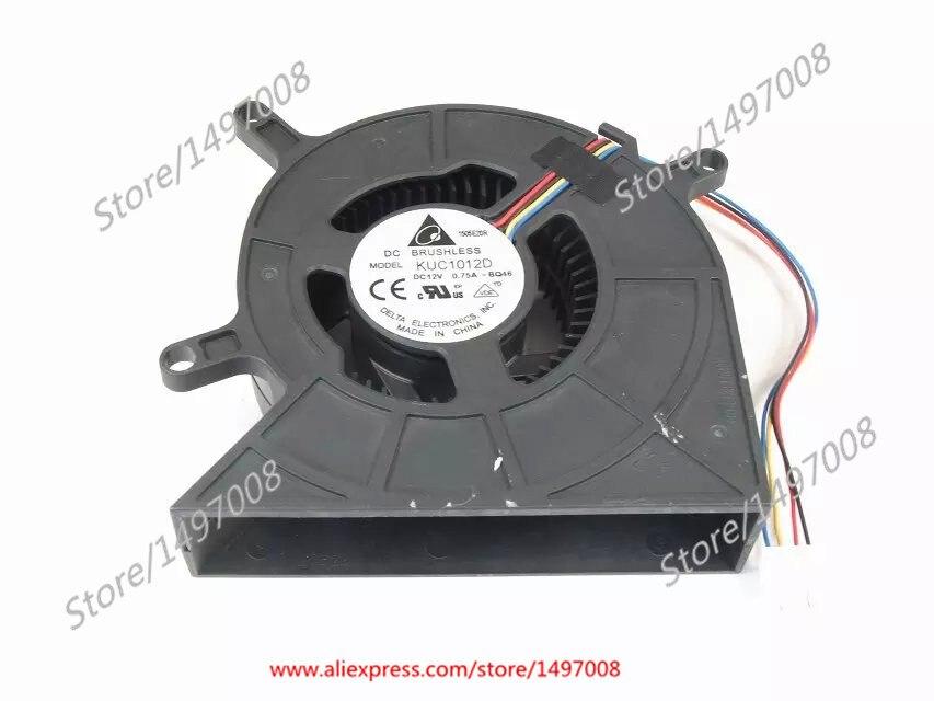 Delta ELECTRONICS KUC1012D BQ46 DC 12V 0.75A 4-Wire Server Blower Fan цена