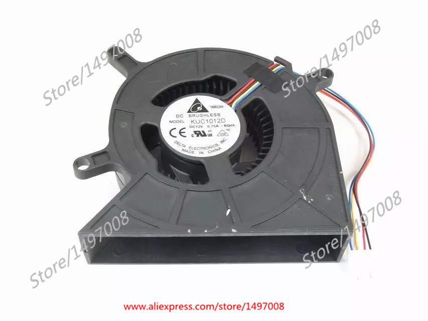 купить  Free Shipping For Delta  KUC1012D -BQ46  DC 12V 0.75A 4-wire 4-pin connector  70mm  Server Blower Cooling fan  онлайн