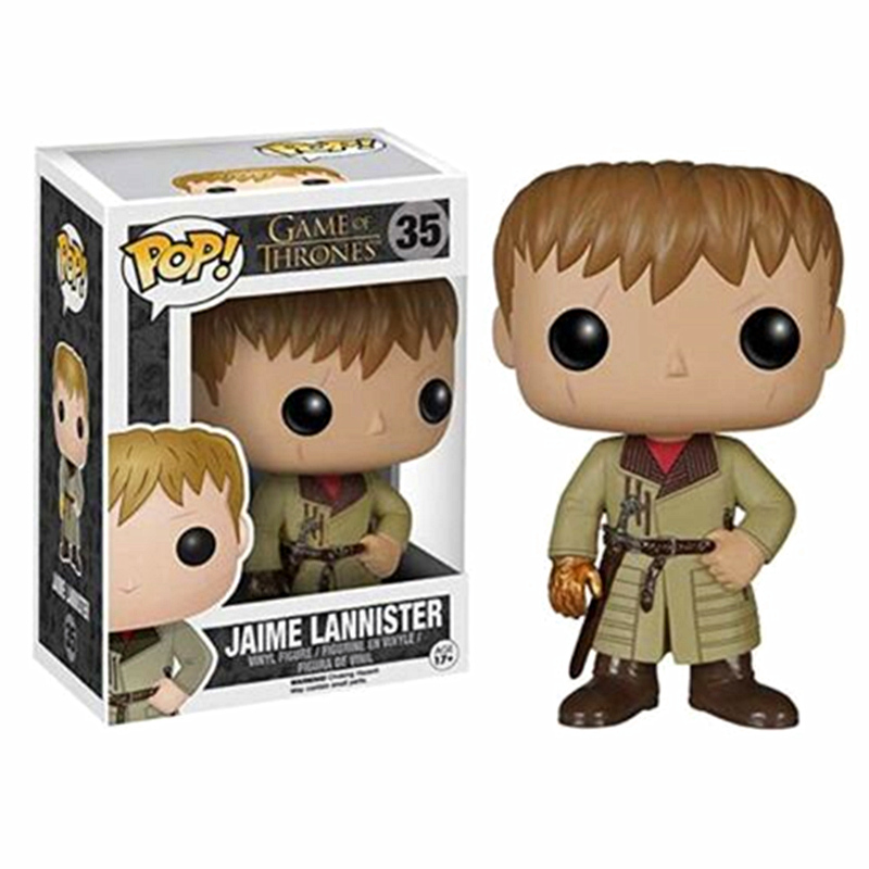 FUNKO POP New Game of Thrones Jaime Lannister Vinyl Action Figures Collectible Model Toys for Children Birthday Present GiftFUNKO POP New Game of Thrones Jaime Lannister Vinyl Action Figures Collectible Model Toys for Children Birthday Present Gift
