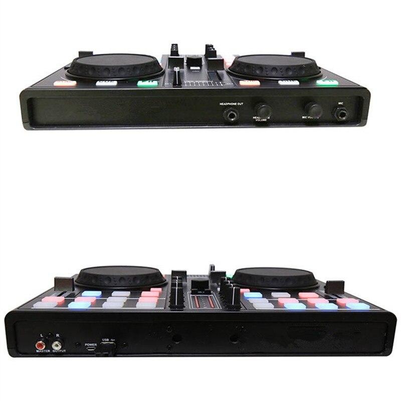 Smartphone téléphone portable DJ plat ajusteur MIDI contrôleur ordinateur multifonction intégré carte son jouant des lecteurs de réglage Audio - 6