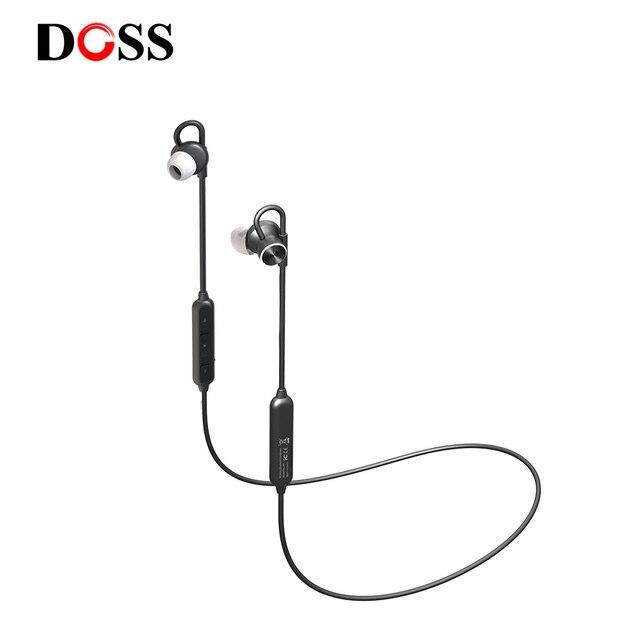 Doss BE5スポーツのbluetoothイヤホンの耳でワイヤレスインナーイヤー型12時間防水IPX6ヘッドセットと内蔵マイク