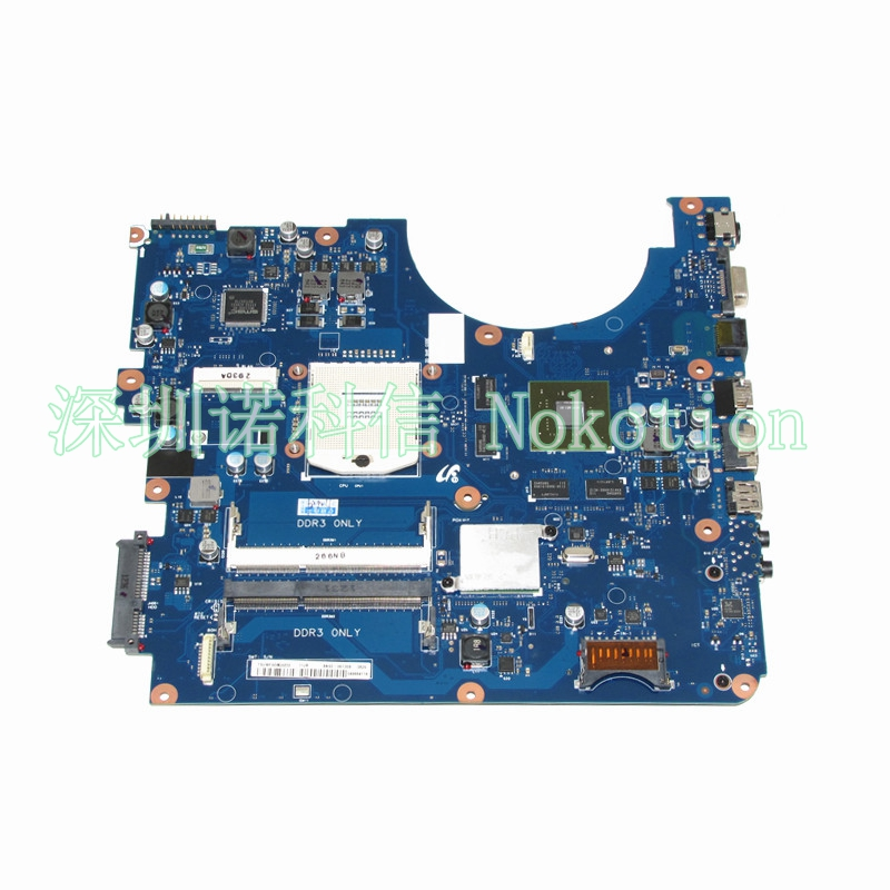 NOKOTION Brand New Laptop Motherboard For Samsung R580 BA41-01175A BA92-06130A BA92-06133A BA92-06133B HM55  GT330M Mainboard nokotion brand new qcl00 la 8241p cn 06d5dg 06d5dg 6d5dg for dell inspiron 15r 5520 laptop motherboard hd7670m 1gb graphics