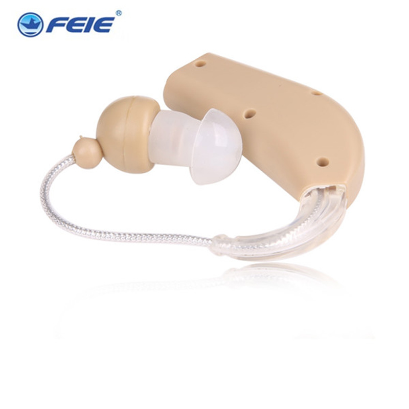 Free shipping cheap amplifier mini ear hearing machine rechargeable hearing aid china S-108 feie s 520 ear hook amplifier sound for hearing machine cheap hearing aid china price free shipping
