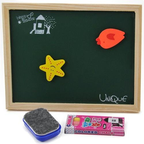 free shipping Fancy mini blackboard message board bchildren learning toy blackboard christmas gift mix order