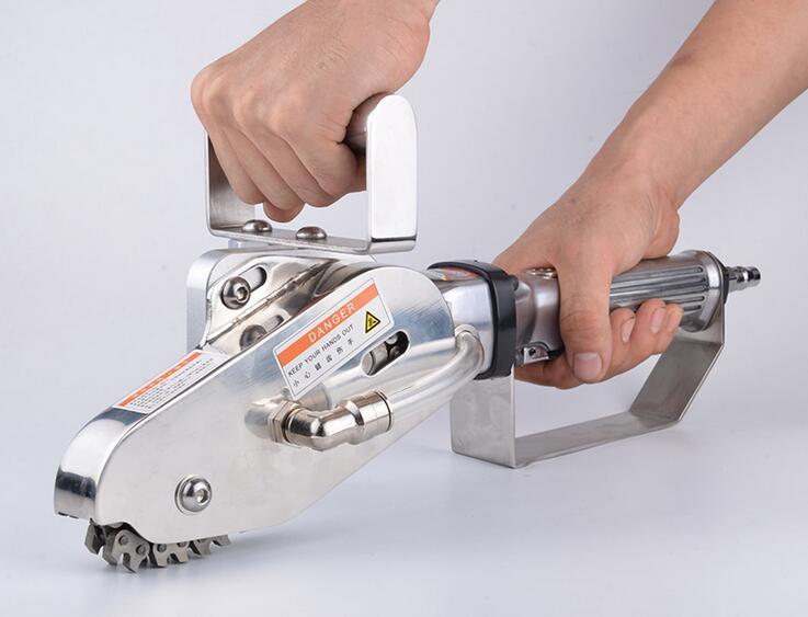 Портативный пневматические отходов зачистки коробки Бумага зачистки машина обрезки инструмент