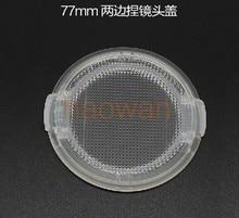 Tapa de lente frontal transparente a presión para Canon, Nikon, Pentax, sony, filtros de cámara, 49 52 55 58 62 57 72 77 82 mm