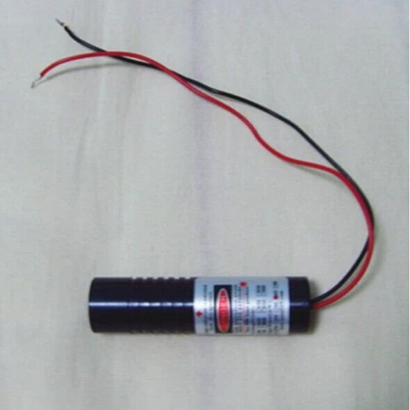 80mW 650nm LINE red laser diode module DC3-5V 16X60mm