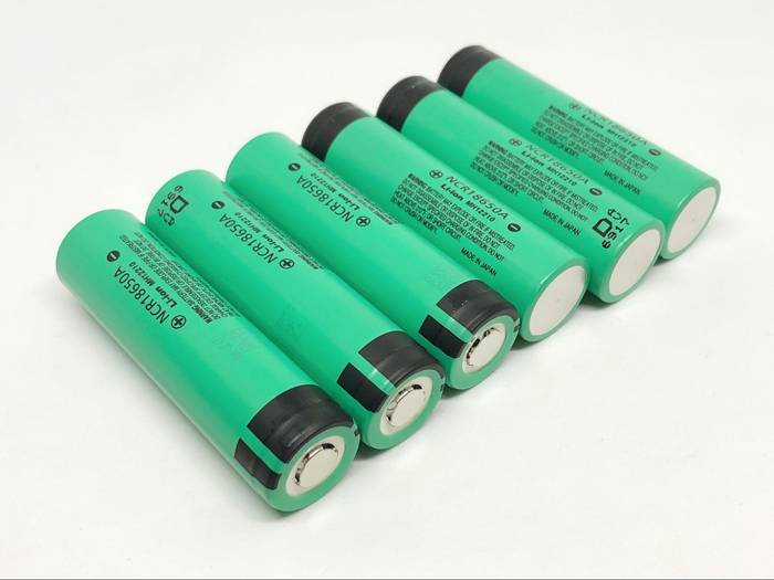 6pcs lot New Original For Panasonic 18650 NCR18650A Rechargeable Battery 3 6V 3100mAh Batteries For panasonic