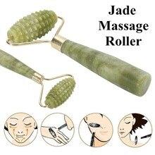 KIFIT Practical Natural Jade Face Massager Roller Spa Head N