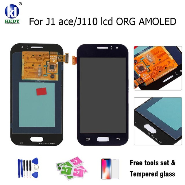 100% Original Tested LCD Display With Touch Screen Digitizer Replacement AMOLED for Samsung Galaxy J110 SM-J110F J110H J110FM