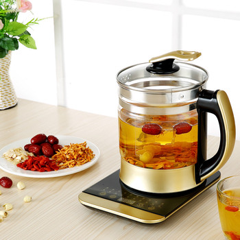 Electric kettle Curing pot Fully automatic multi-function heavy-glass and electric  teapot  Safety Auto-Off Function