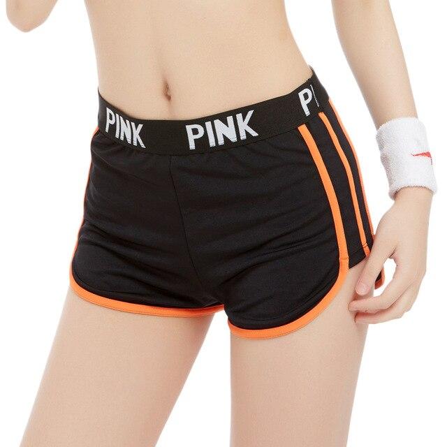 Vs Secret Love Pink Active Fitness Shorts Women Tumblr Bermuda Casual Booty Mini Sporting High Waist Shorts Feminino P68 Z41