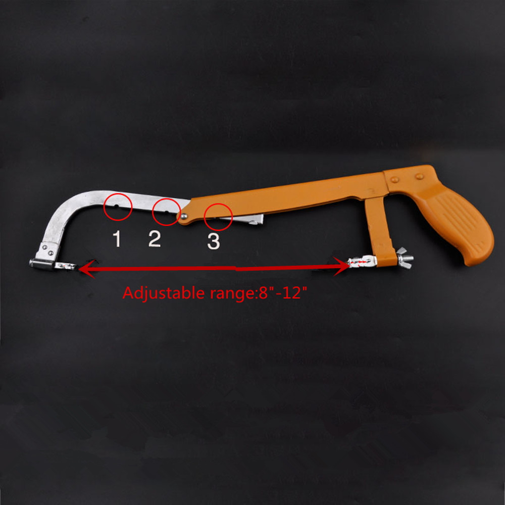 Adjustable range DIY saw 8-12 with Diamond Saw Blade for Jade Amber Sapphire Cutting Tool Metal Wire Saw garland Saw 8 200mm diamond dry cutting disk saw blade plate wheel with long short protective teeth for dry cutting granite sandstone