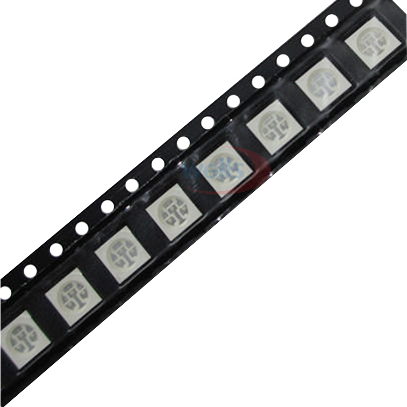 Diodes Back To Search Resultselectronic Components & Supplies Useful 1000pcs Smd/smt 5050 Led Red Yellow Green Blue White Warm White Rgb Plcc-6 Chip-3 Super Bright Lamp Light High