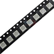 1000Pcs High Bright PLCC -6 3-CHIPS SMT 5050 SMD RGB LED Chip Emitting Diode LED Lamp Beads for 5050 led strip lights tape