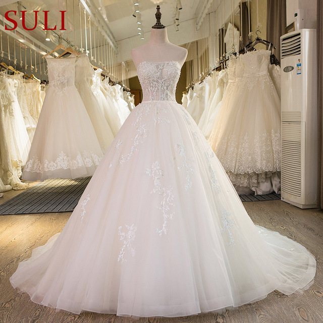5f4ba0e8065 SL-43 New Custom Made Real Picture Vintage Lace Bridal Wedding Dress 2017