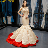 Luxury Evening Dress Satin Mermaid Off Shoulder Evening Gown Gorgeous Long Prom Gala Dress Morocco Robe De Soiree Abendkleider
