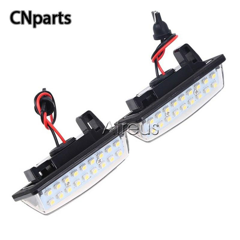 US $14 96 21% OFF|CNparts Car LED For Nissan Versa Note Tenna J32 J31  Maxima Cefiro Altima Rogue License Plate Lights SMD3528 Number Plate  Lamp-in