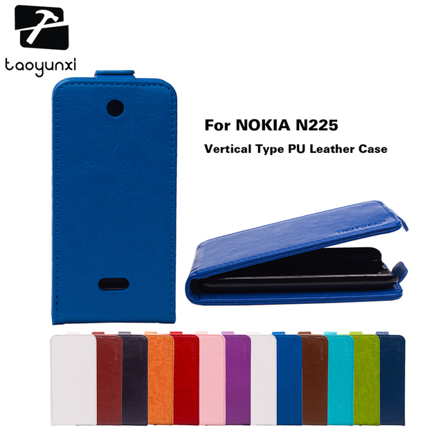 3eac986dc06 TAOYUNXI Flip PU Leather Case For Nokia 225 Case Phone For Microsoft Nokia  Lumia 225 n225
