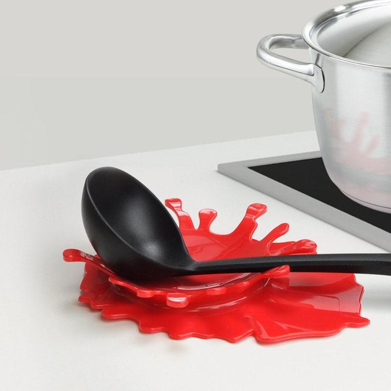 Creative Design Splattering Blood Kitchen Spoon Holder Tomato Rhaliexpress: Red Spoon Rests For Kitchen At Home Improvement Advice